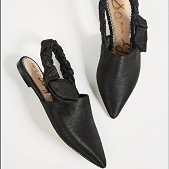 adbe11a41d7f5 Sam Edelman Shoes | Sam Edelman Rivers Flats In Black | Poshmark